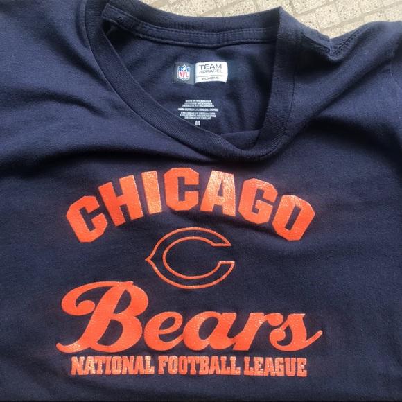 buy popular 92187 eafd8 SALE! Chicago Bears Fan Women's T-shirt